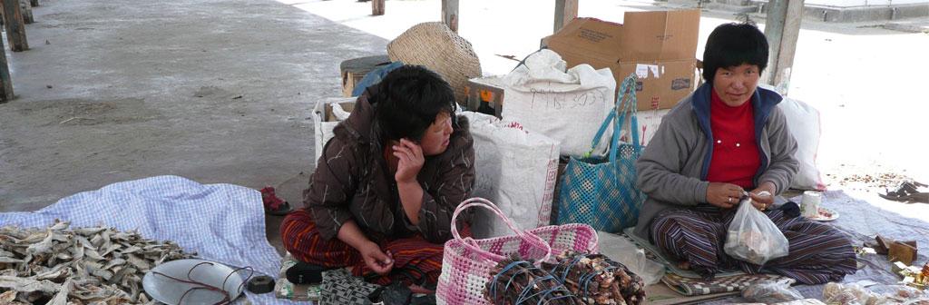 Weekend Open Market Bhutan