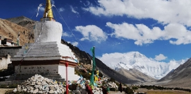 Rongbuk North Face of Everest